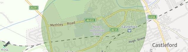 Map of Hightown