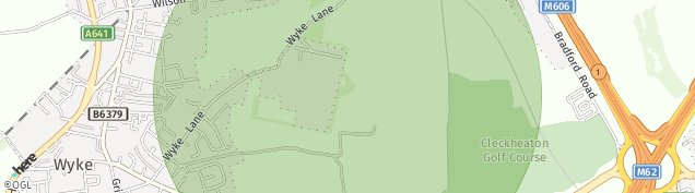 Map of Wyke