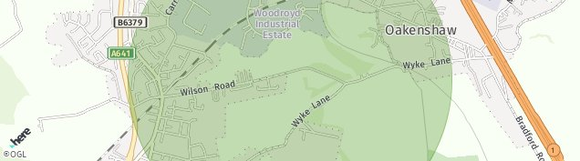 Map of Wyke