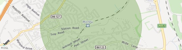 Map of Morley