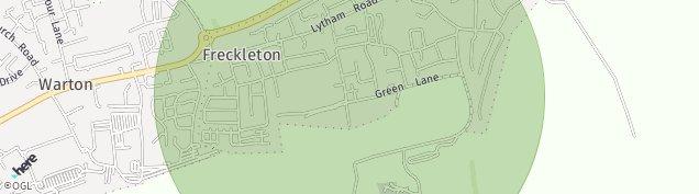 Map of Freckleton