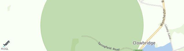 Map of Dunnockshaw