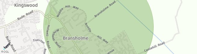 Map of Bransholme