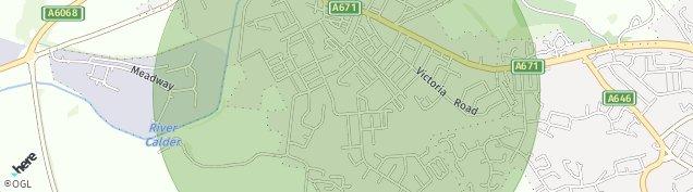 Map of Padiham
