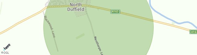 Map of North Duffield