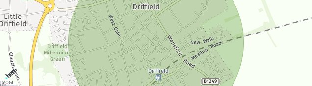 Map of Driffield