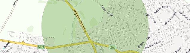 Map of Harrogate