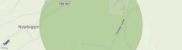 Map of West Burton