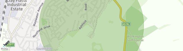 Map of Salterbeck