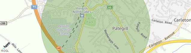 Map of Penrith