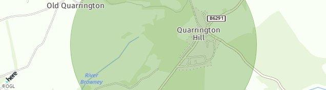 Map of Quarrington Hill