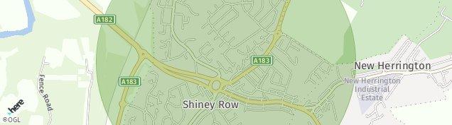 Map of Shiney Row