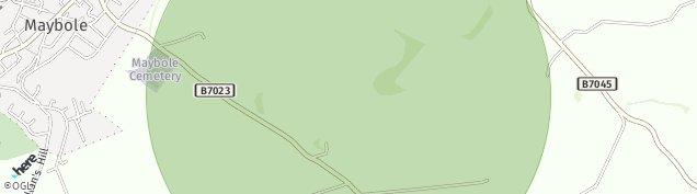 Map of Maybole