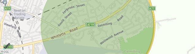 Map of Ayr