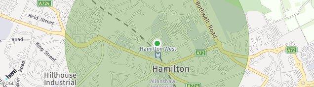 Map of Hamilton