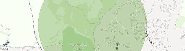 Map of Wishaw