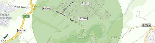 Map of Roslin