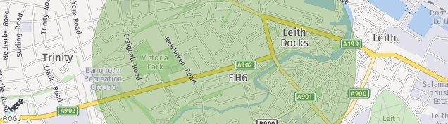 Map of Edinburgh