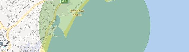 Map of Kirkcaldy
