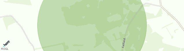 Map of Peat Inn