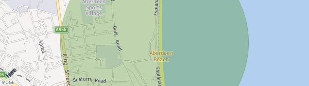Map of Aberdeen