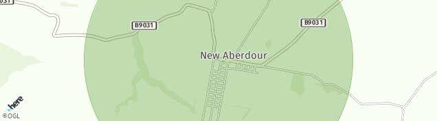 Map of New Aberdour