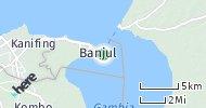 Port of Banjul, Gambia