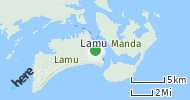Port of Lamu, Kenya