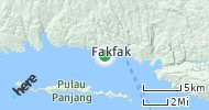 Port of Fakfak, Indonesia